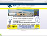 bowler group website designed by alwaysinspired