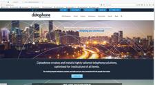 dataphone website designed by alwaysinspired