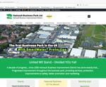 hainault business park website designed by alwaysinspired