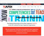 NAFDI website designed by alwaysinspired