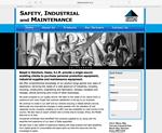 safety industrial website designed by alwaysinspired