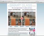 smartglass website designed by alwaysinspired